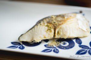 マルベリージンジャー焼き魚-300x200
