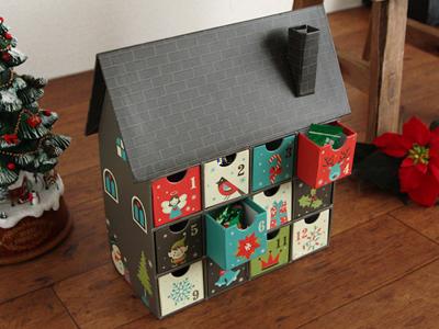 クリスマス アドベント ハウスボックス