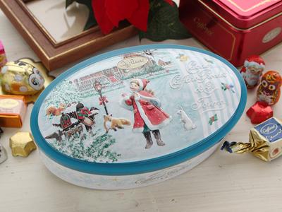 カファレル Caffarel クリスマス 缶 ノッテサンタ