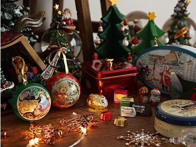 クリスマス 特集 スノードーム カファレル ガーランド