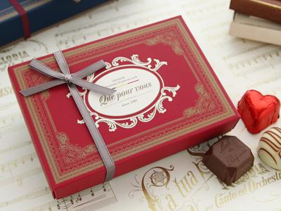 クプルブ シス Que pour vous six チョコレート 6粒
