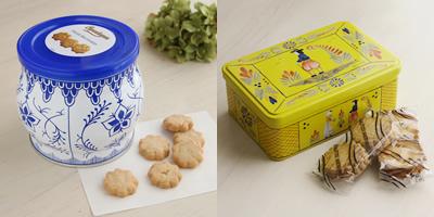 コペンハーゲン ダニッシュミニクッキー デンマーク ケルセン フランス産 ガレット・バタービスケット アンリオ缶 クッキー ル・ブルターニュ ギフト