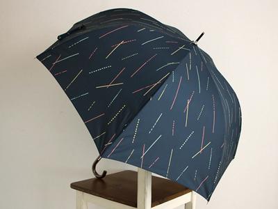 長傘 ひざしのシャワー tenoe テノエ 雨晴兼用 ジャンプ式 雨傘 60cm