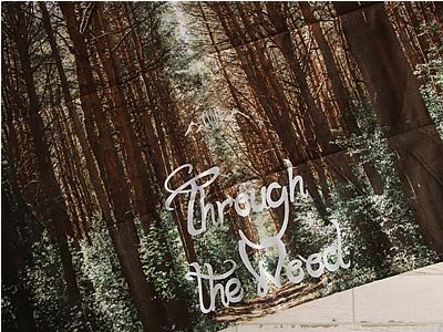 Through The Wood スルー ザ ウッド ピクニックシート レジャーシート
