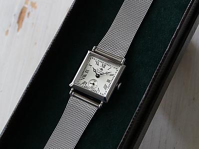 虹 ロゼモン アンティーク腕時計