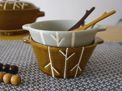 秋日和 ココット 萬古焼 とんすい 日本製
