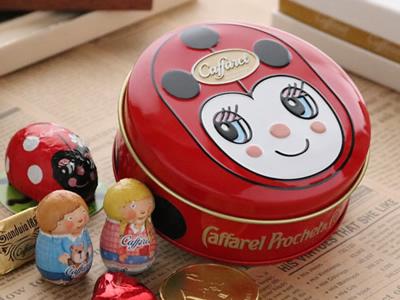 カファレル Caffarel チョコラティーノ缶 チョコレート
