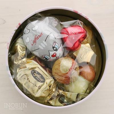 カファレル Caffarel ピッコリ・アミーチ缶 チョコレート
