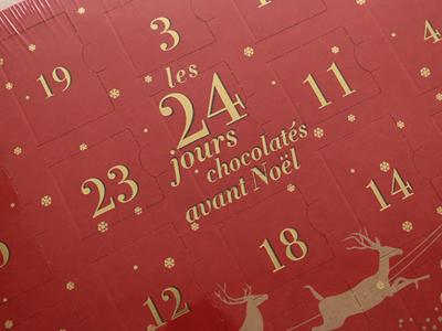 カフェタッセ Cafe-Tasse アドベントカレンダー アソートチョコ