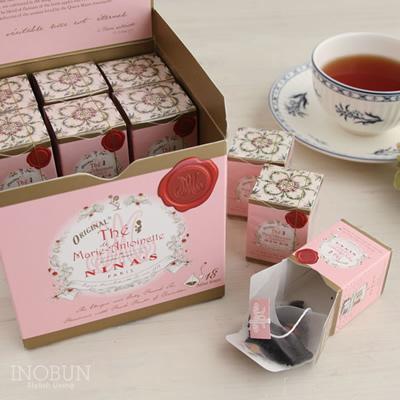 マリーアントワネットティー ブレンド 紅茶 ニナス NINAS ティーバッグボックス 2g x 18個入り
