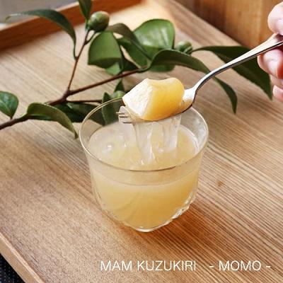 手土産ギフト フルーツ くずきり MAM KUZUKIRI SET なつみかん/もも/ゆず 6個セット お祝いギフト お中元