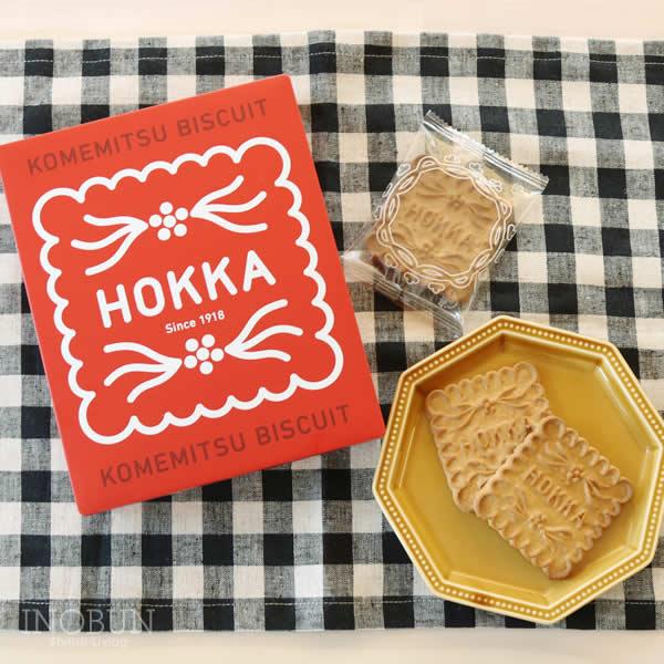 hokka 米蜜ビスケットギフト缶 12枚入り ホッカ