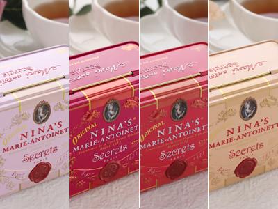 Royal box for tea ティーバッグ缶