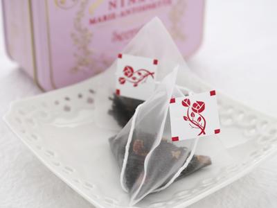 ニナス 紅茶 NINAS オリジナル マリーアントワネットティー Royal box for tea ティーバッグ缶 2.5g x 10袋