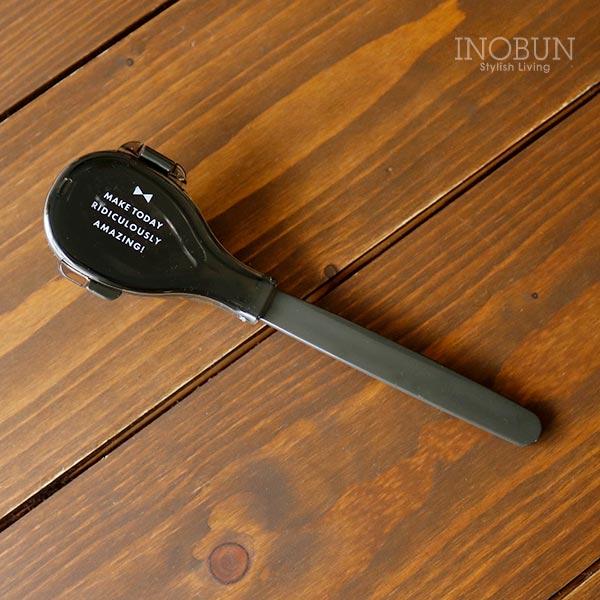 シャトン 抗菌スープ専用スプーン ブラック